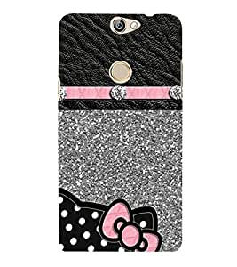 PrintVisa Diamond Strip pattern 3D Hard Polycarbonate Designer Back Case Cover for Coolpad Max