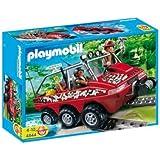Playmobil - Camión Anfibio de los Buscadores del Tesoro (4844)