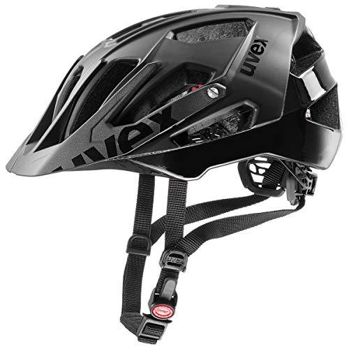 Uvex Quatro MTB Fahrrad Helm schwarz 2019: Größe: 52-57cm