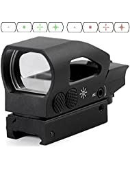 Tactical Ratchet 1x23x34 Multi Reticle Rapid Fire Green and Red Dot Sight by AR15 Tactical