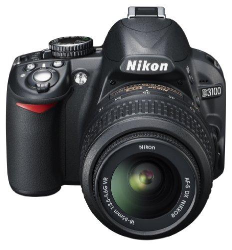 Nikon D3100 SLR-Digitalkamera (14 Megapixel - 4