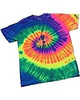 Tie-Dye NEON Bright Rainbow Unisex T-shirt