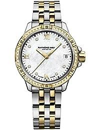 Raymond Weil Tango Madre de Perla Diamante Dial Damas Reloj 5960-sps-00995