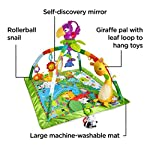 Fisher-Price DFP08 Rainforest Gym, Baby Playmat with Music and Lights, Suitable from Birth for New-Borns 6