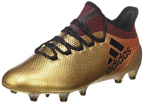 adidas Herren X 17.1 FG Fußballschuhe, Gold (Tagome/Cblack/Solred), 44 EU