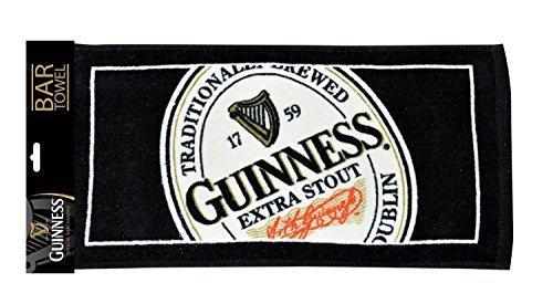 Guinness® Bar Handtuch Englisches Etikett - Guinness-bier Etikett