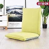 Sessel Zr Lazy Sofa Individual Schlafsaal Zimmer Waschbar Klappbett Stuhl Schlafzimmer Erker Simple -Geeignet für Innen- und Außenbereich (Farbe : Blue)