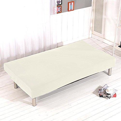 Copridivano elasticizzato copri divano copri divano copri divano bianco senza braccioli fibra di poliestere elastan
