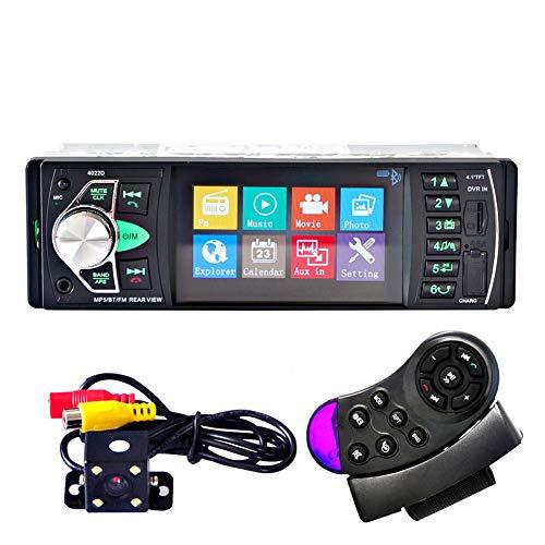 XIAOYUB 4,1-Zoll-Bluetooth-Auto-Mp5-Player Auto-Audio- Und Video-U-Disk-Kartenmaschine Umkehren des Bildes Bluetooth Mp5