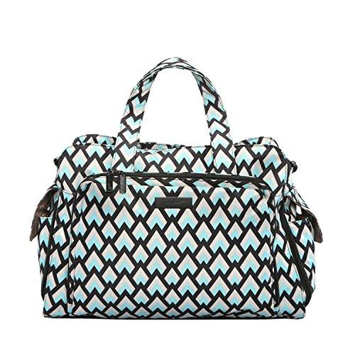 ju-ju-be-be-prepared-borsa-da-viaggio-per-il-cambio-twins-borsa-colore-nero-diamante