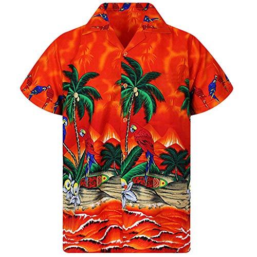 Camisas Hombre 2019 MISSWongg Poliéster Ligeros Transpirables...