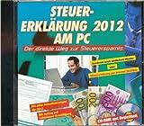 Steuererklärung 2012 am PC