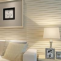 Papel pintado a rayas para paredes 3 D pared casa decoración sala de estar TV Fondo decoración pared papel papel de pared moderno Papier, B