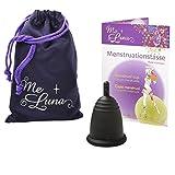 Me Luna Coupe menstruelle Classic, manche noir taille S