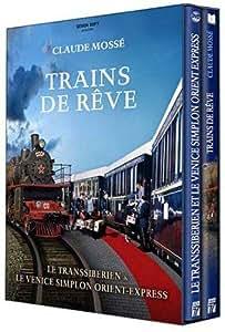 Trains de reve : le transsiberien ; le venice simplon orient-express