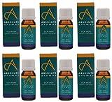 (6 PACK) - Absolute Aromas - Tea Tree Oil   10ml   6 PACK BUNDLE