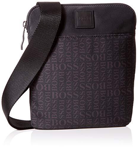 BOSS Lighter_s Zip Env, Sacs portés épaule homme, Noir (Black), 0.1x24x20 cm (B x H T)