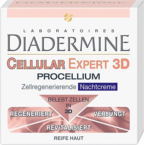 Diadermine Cellular Expert 3D Procellium Zellregenerierende Nachtcreme, 1er Pack (1 x 50 ml)