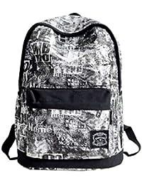 25b90eab6c0cf Mnory 14 Zoll Nylon Wasserdicht Backpack Versatile Rucksack Jugendliche  Schulrucksack Schule Laptop…