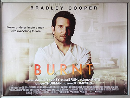 Price comparison product image Cinema Poster: BURNT 2015 (Quad) Bradley Cooper Sienna Miller Daniel Brühl
