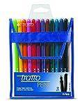 Tratto PEN Multicolore stylo-feutre - Stylos-feutres (Multicolore, Multicolore, 0,5 mm, Encre à base d'eau, 12 pièce(s))