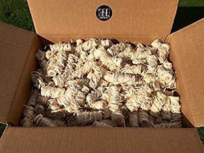 5kg BBQKontor Premium Anzünder aus Holzwolle & Wachs - Grillanzünder Kaminanzünder Ofenanzünder Brennholzanzünder Kaminholzanzünder Holzanzünder Anzündkamin Grill Grillkohle Holzkohle Briketts Kaminholz Brennholz Feuerkorb