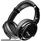 Stagg SHP-5000H Ecouteurs pour DJ/Moniteur Pro Noir