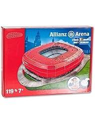 Giochi Preziosi - 70012121 - 3D Puzzle - Stade Allianz Arena München - Rouge