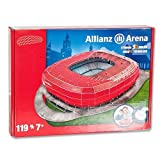 3D Stadion-Puzzle Allianz Arena Münc.rot