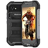 Rugged Smartphone, Blackview BV6000S Unlocked Mobile Phone, 4400mAh Battery, Compass+GPS+NFC, IP68 Waterproof Shockproof, Dustproof, 4.7 inch HD IPS Screen, 4G+Bluetooth+Wifi - Black