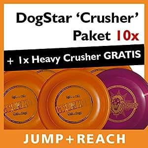 "DogStar chien frisbee-pack ""crusher"" heavy crusher 10 x 1 inclus"