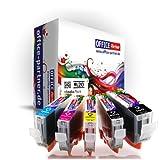 20er multiPack kompatible Druckerpatronen zu CANON PGI-5 / CLI-8 mit Chip für Canon PIXMA MP500 / MP510 / MP520 / MP530 / MP600 / MP600R / MP610 / MP800 / MP800R / MP810 / MP830 / MP960 / MP970 / MX700 / MX850 ; Ip3300 / Ip4200 / Ip4200x / Ip4300 / Ip4500 / Ip4500x / Ip5200 / Ip5200r / Ip5300 /Ip6600 / iP6600D