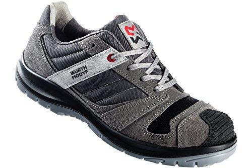 WÜRTH MODYF Sicherheitsschuhe S3 SRC Stretch X grau: Der multifunktionale Schuh ist in Größe 40 erhältlich. Der zertifizierte Arbeitsschuh ist ideal für Lange Arbeitsalltage.