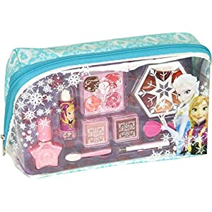 51LiOqiBA4L. SS300  - Disney Frozen-9341110 Frozen neceser con maquillaje, 20.6 x 12.4 x 4.6 (Markwins 9341110)