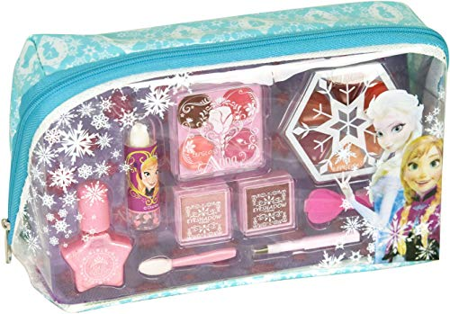 Disney Frozen-9341110 Frozen neceser con maquillaje, 20.6 x 12.4 x 4.6 (Markwins 9341110)