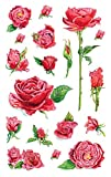 Avery Zweckform 54337 Deko Sticker Rosen 54 Aufkleber