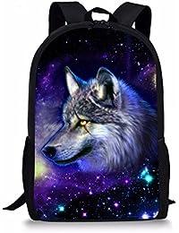 Nopersonality Kids Backpack Boys Girls School Bag Cool Trendy Animal Print Rucksack