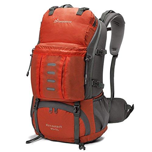 Imagen de mountaintop 45 + 5l  impermeable / morral que acampa / viaje/  al azar con la cubierta impermeable al aire libre escalada  para la escuela