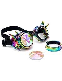Gafas de Sol Mujer, ❤️Xinantime Caleidoscopio Gafas de colores Rave Festival Party EDM Gafas