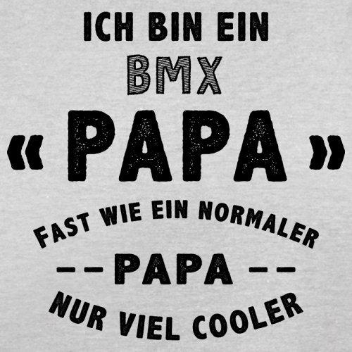 Ich bin ein BMX Papa - Herren T-Shirt - 13 Farben Hellgrau