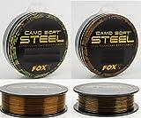 Fox Soft Steel Camo Karpfen Schnur 1000m