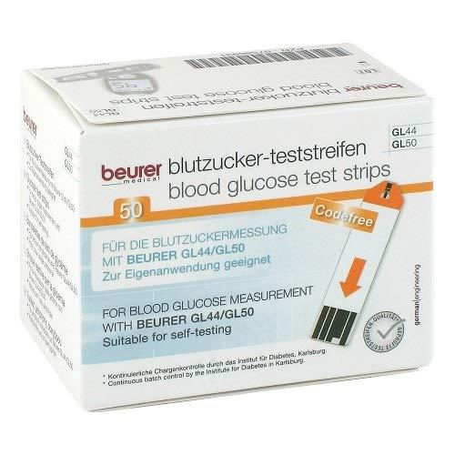 Zoom IMG-1 beurer 50 test strips