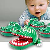 timeracing Funny Adult Children Kids Toy Crocodile Mouth Dentist Bite Finger Game Xmas Gift
