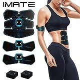 Best Inicio entrenamientos - IMATE EMS Ab Entrenador Estimulador muscular Ab Tonificante Review