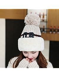 MASTER-Halloween Navidad sombreros  beanie Hombres Mujeres tejer sombreros  gorros invierno protectores auditivos gorros… 7a7d2ccc8e5