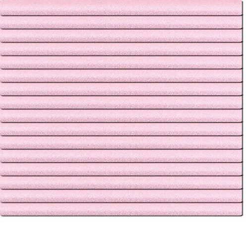 Dekologi Aluminium Jalousie 70 x 120 cm (Breite x Höhe) - Lamellenfarbe 1409 pastelviolett glitter//Maßanfertigung Alu Jalousien Jalousette Rollo Plissee