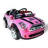 Kinder Elektroauto MINI Style 5388 Elektro Kinderauto Kinderfahrzeug (pink) -