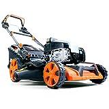 FUXTEC Benzin Rasenmäher FX-RM20BS675iS mit 51 cm und E-Start variablem GT Selbstantrieb B&S Motor Elektro Start Easy Clean