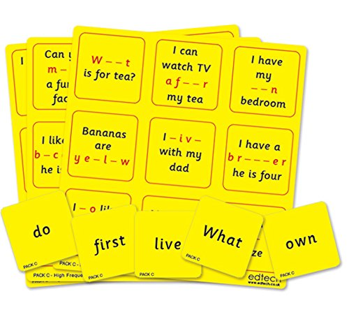 Inspirational Classrooms 3004101 - Juguete Educativo Bingo de Alta frecuencia