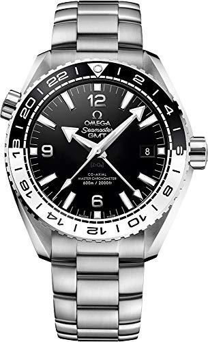 Omega Seamaster pianeta oceano nero e bianco lunetta 43.5mm orologio da 215.30.44.22.01.001